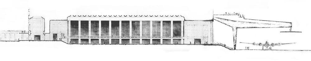 Sección original de Ernst Sagebiel