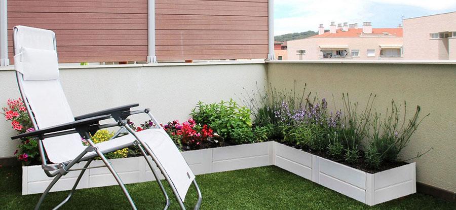 Sistema Igniagreen en terraza