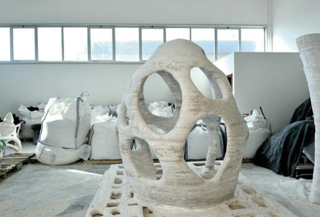 Radiolaria, la primera estructura/escultura impresa en 3D.