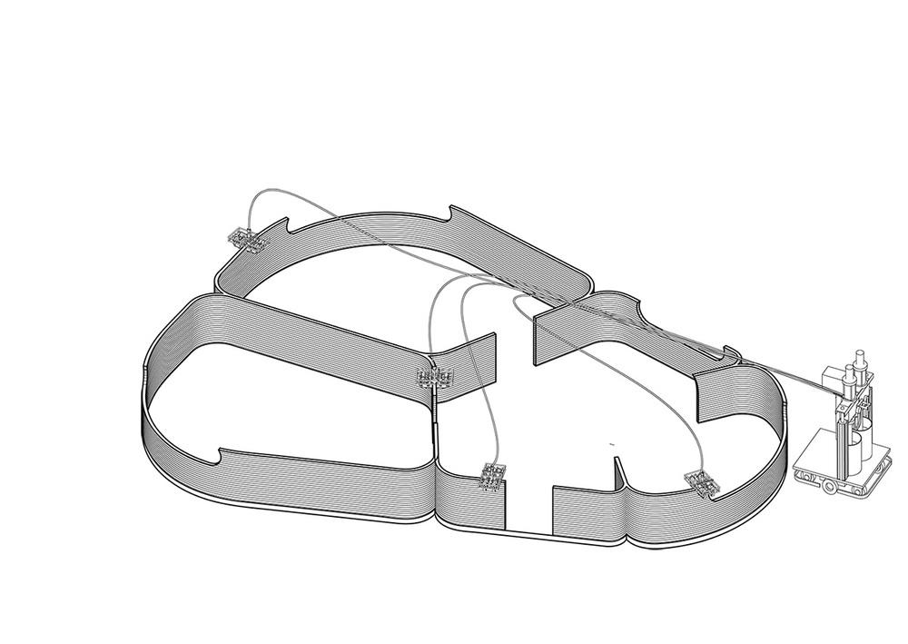 Desarrollo de la construcción con el Grip Robot.