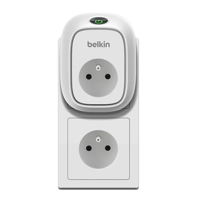 Enchufe Wemo de Belkin.