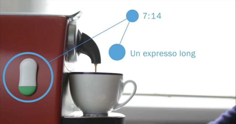 Controla el consumo de café.