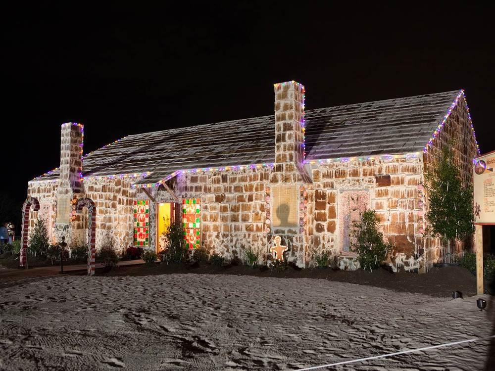 La casa de pan de jengibre más grande del mundo