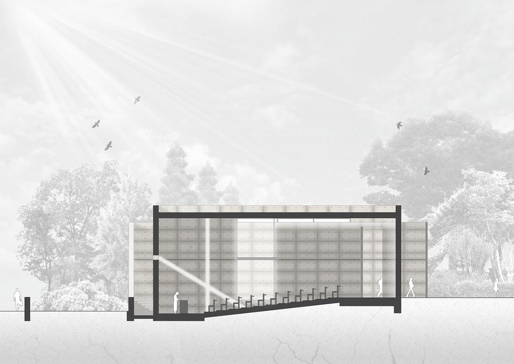 Iglesia de la luz de Tadao Ando