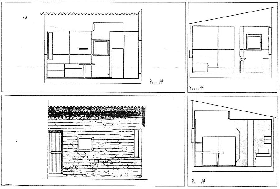 Le Cabanon de Le Corbusier, otra reinterpretación de la arquitectura esencial.