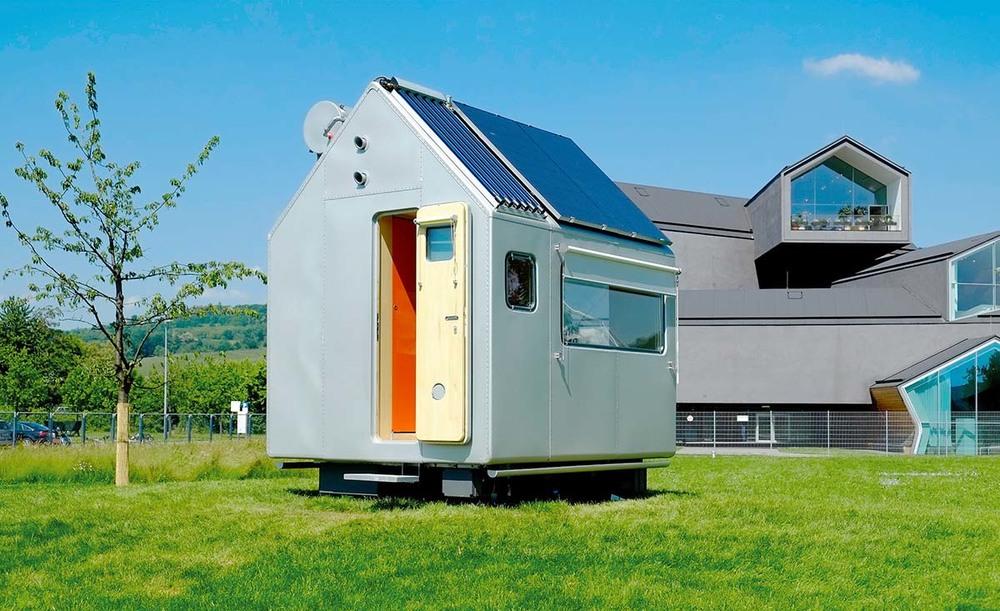 La casa VITRA de Renzo Piano.