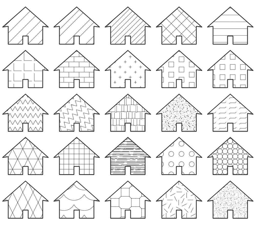 Arrevol Arquitectos: Motivos de arquitectura para Photoshop gratis