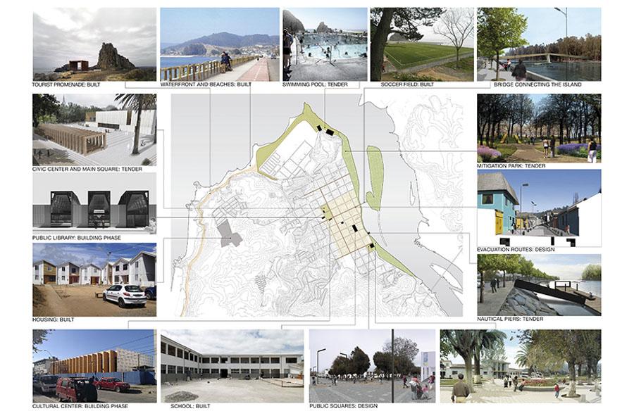 Plan de reconstrucción de la ciudad de Constitución.