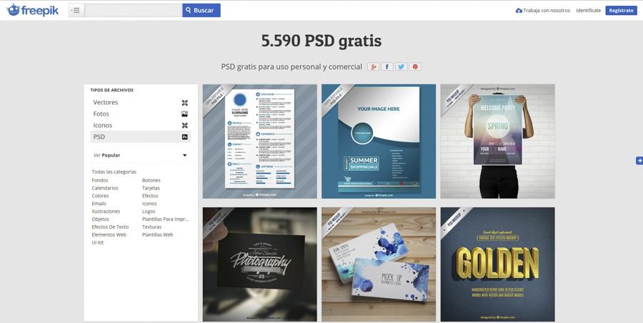Arrevol Arquitectos: 5 webs de recursos gratis para Photoshop