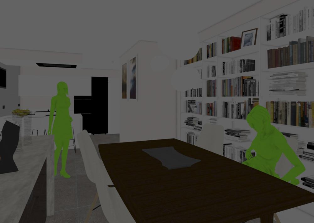 """El modo de visualización """"Consistent color"""" de 3ds Max nos es útil para destacar un elemento del resto"""