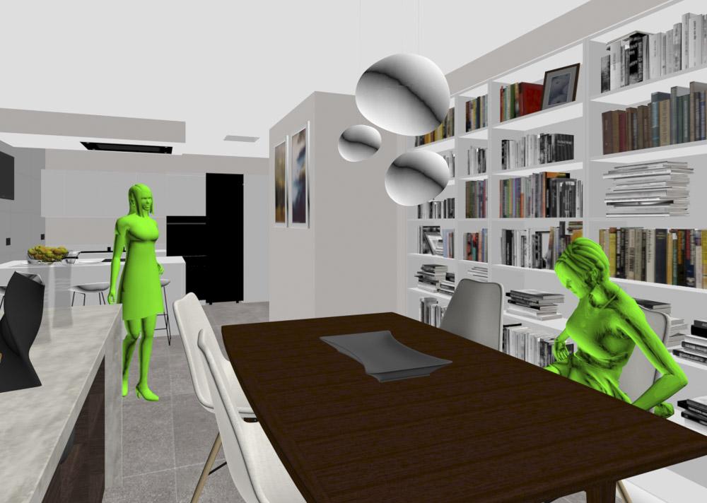 """El modo de visualización """"Shaded""""de 3ds Max nos es útil para ver las sombras e iluminaciones propias de un objeto"""