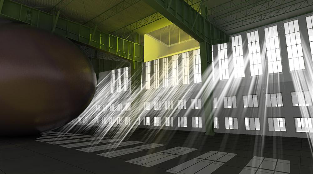 Luz al 100% de opacidad y modo de fusión normal