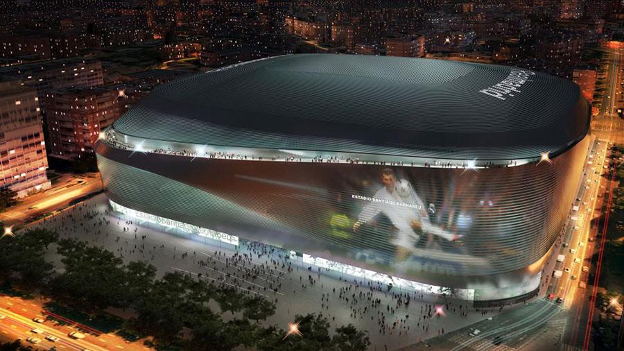 Proyecto de remodelación del Santiago Bernabéu -2014.