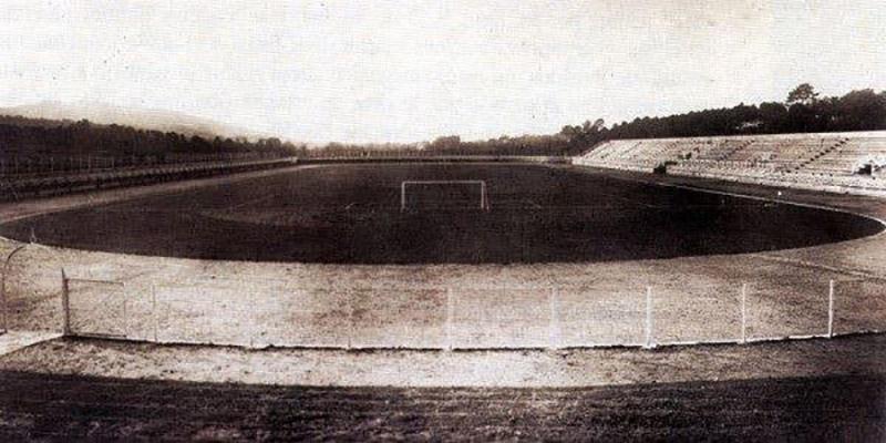 El estadio Balaídos en 1928.