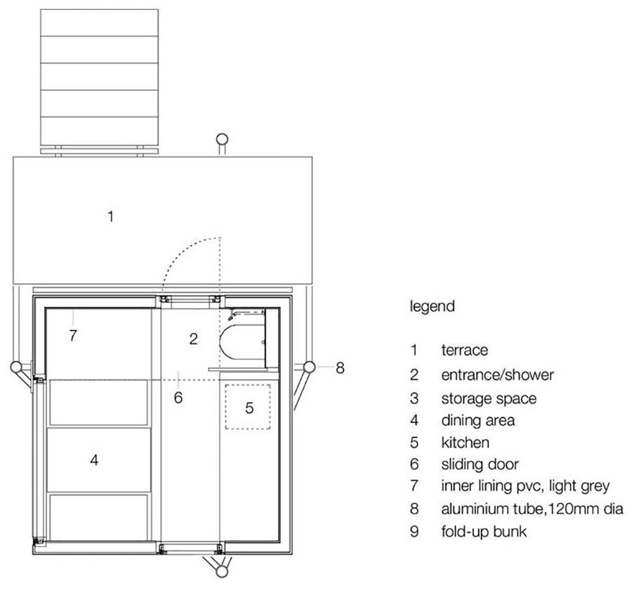 Planta de Micro Compact Home
