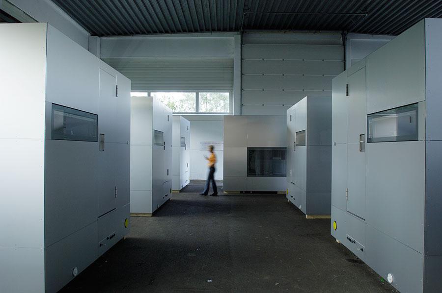 Micro Compact Home se sirve en un plazo de 3 meses desde el pedido.