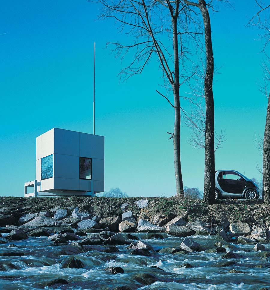 Micro Compact Home, vista exterior.
