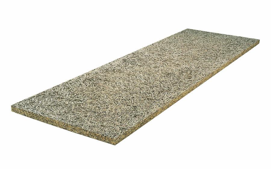 Un panel de fibras de madera