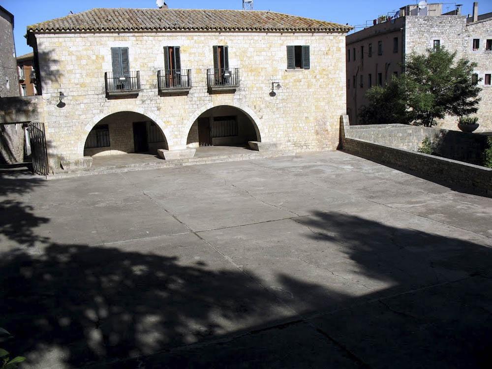 Plaza dels Jurats en Girona