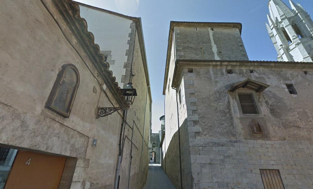 Pujada del Rei Martí en Girona