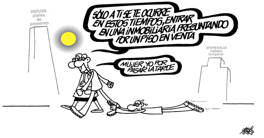 Tira cómica de Forges