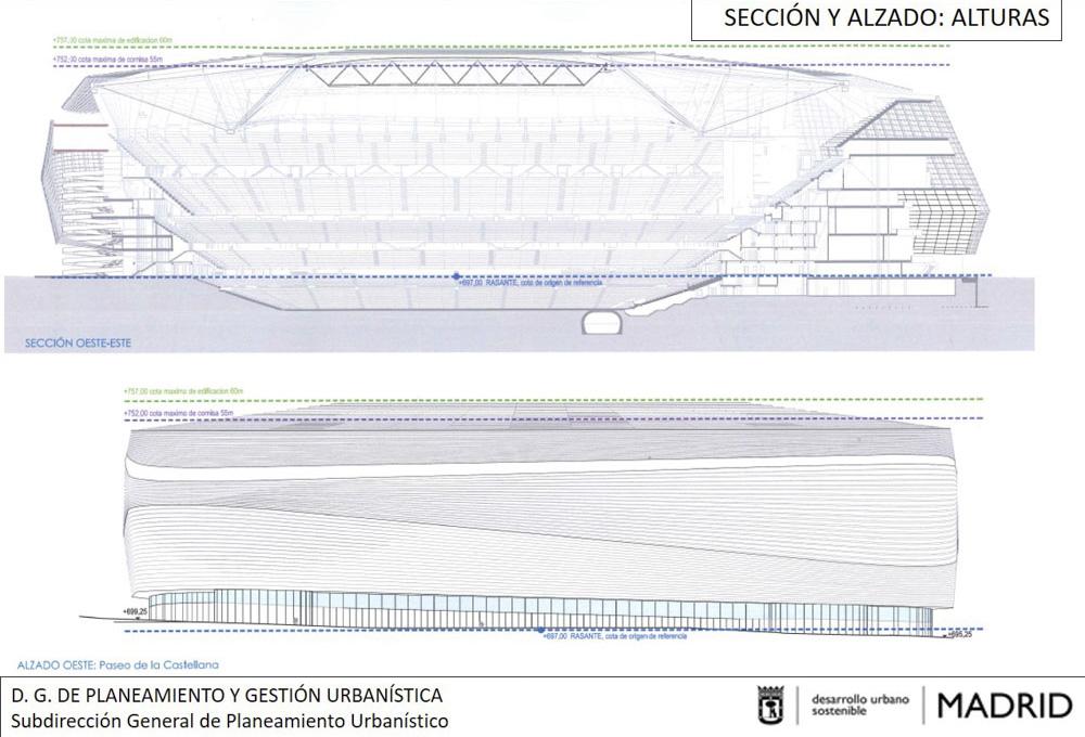 El nuevo estadio bernab u una reforma muy ambiciosa for Estadio bernabeu puerta 0