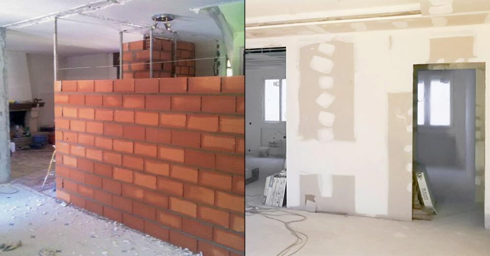 Arrevol arquitectos qu es mejor tabiques de pladur o - Precio ladrillo perforado ...