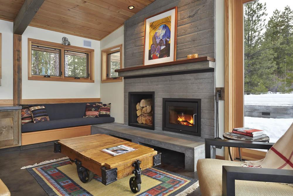 Arrevol arquitectos tipos de chimeneas y cu les puedes - Tipos de lena para chimeneas ...