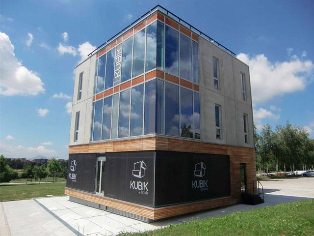 Edificio de pruebas Kubik (Tecnalia) en el que se han realizado varios experimentos del proyecto Osirys.