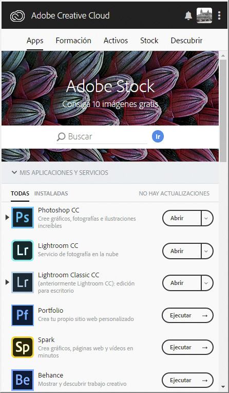 Los dos programas están disponibles si adquirimos Photoshop