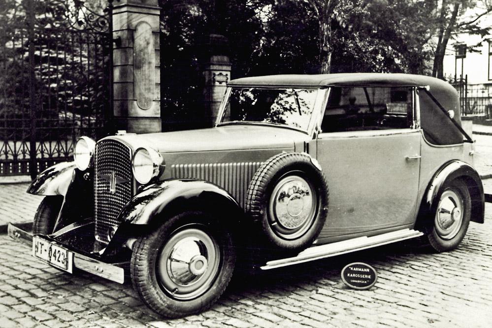 Uno de los vehículos diseñados por Walter Gropius. Ninguno de sus diseños tuvo éxito.