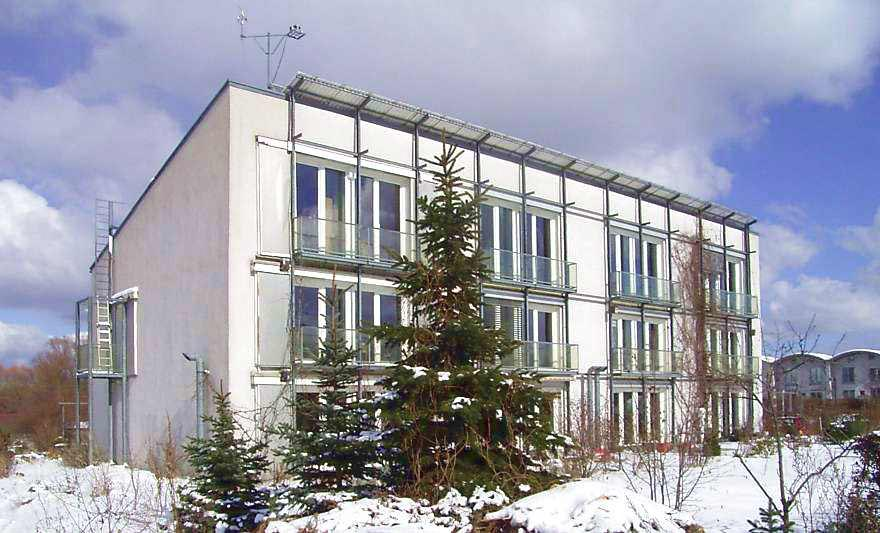 El primer edificio Passivhaus se monitoriza desde 1991.