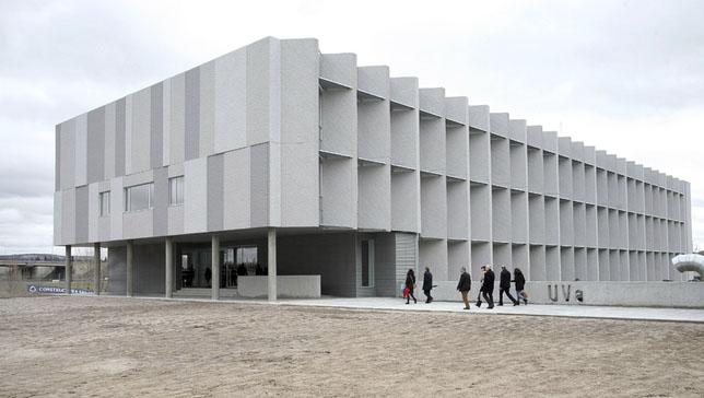 El edificio LUCIA de la Universidad de Valladolid (UVA) Certificado LEED Platinum y VERDE 5 hojas.