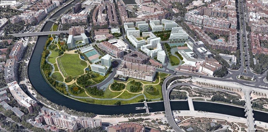 El plan para la remodelación de la zona Mahou-Calderón.