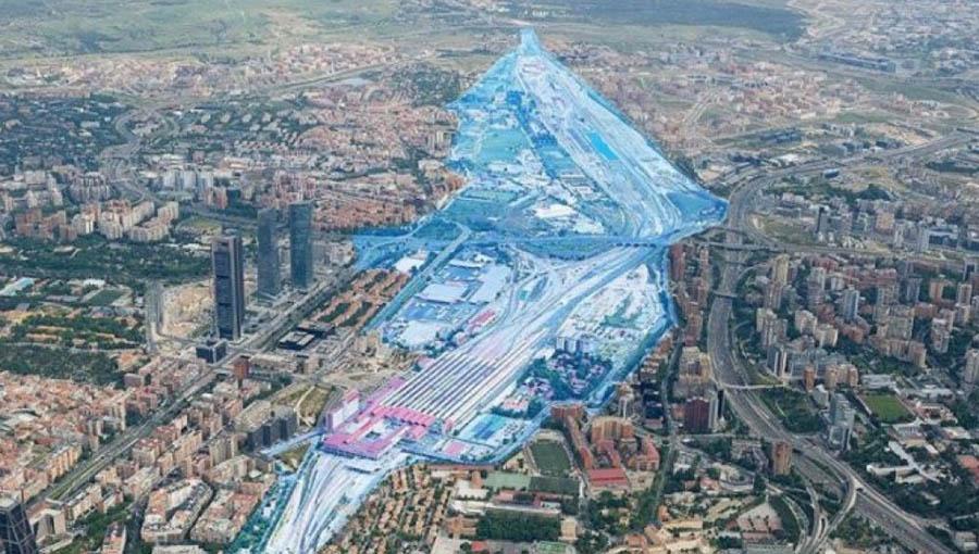 Zonas afectadas por Madrid Nuevo Norte.