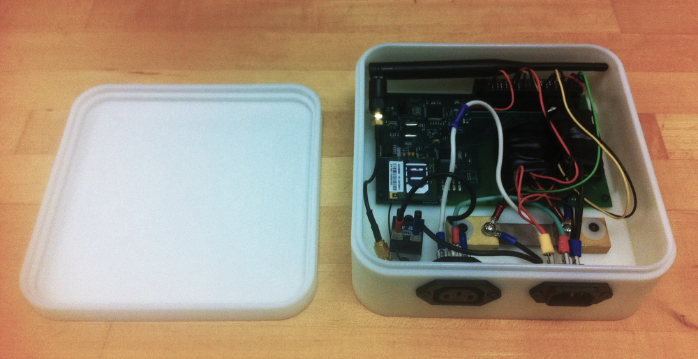 Assembled demo smart meter
