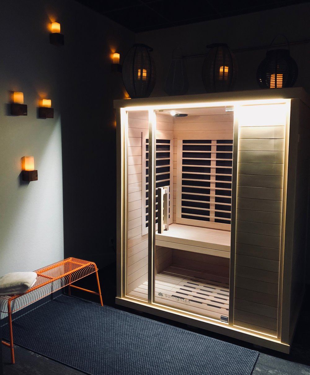We also offer Infrared Sauna