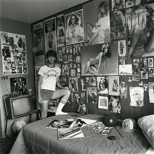 ©Linda Brooks, David in his room, (1981)