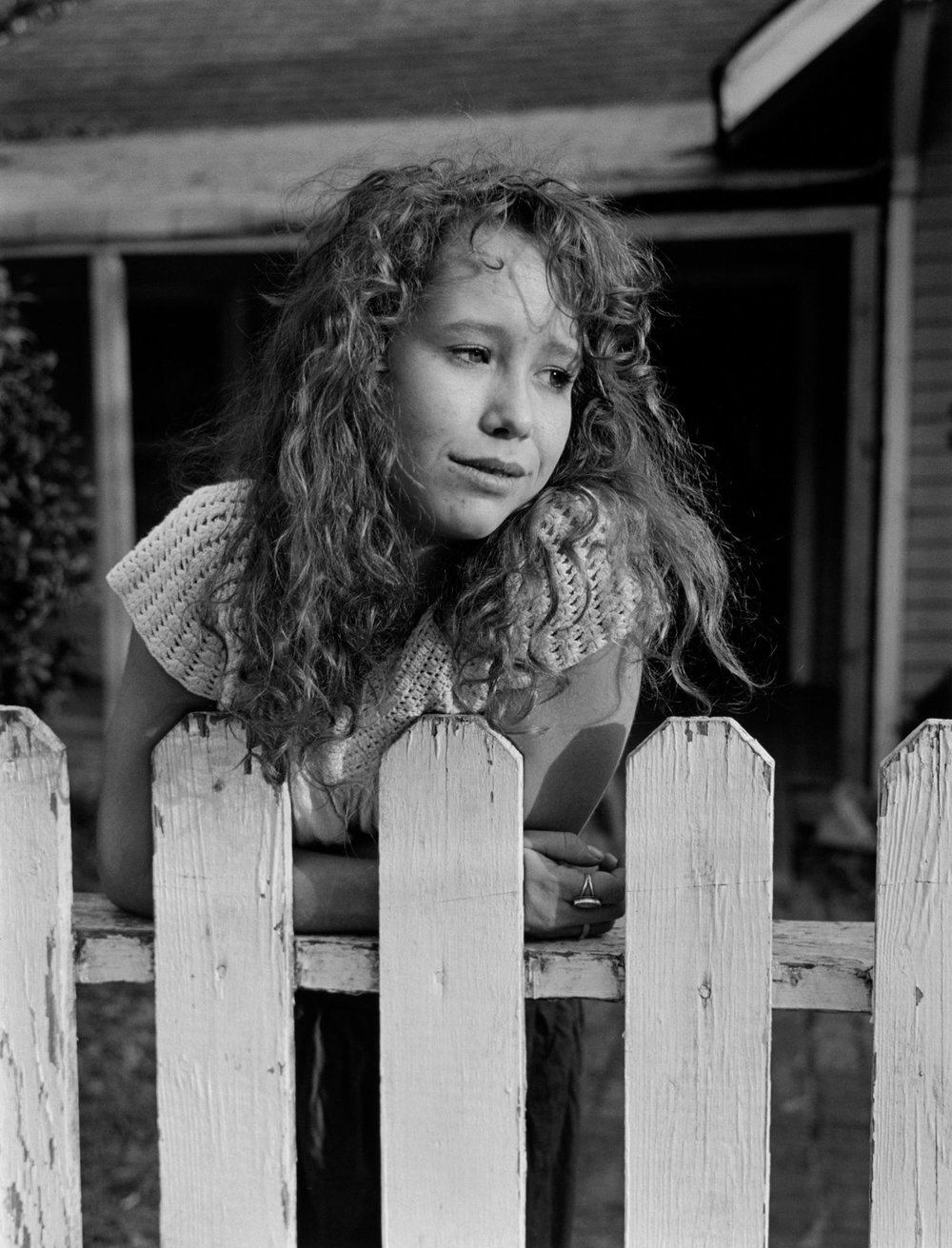 Maia, Knoxville, 1991. Gelatin silver print. © Mark Steinmetz, Courtesy of the Artist and Yancey Richardson Gallery