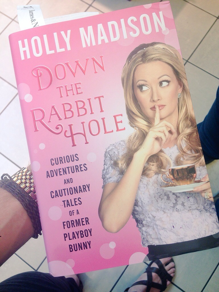 Holly Madison - Down the Rabbit Hole. Available at Amazon, £11.89