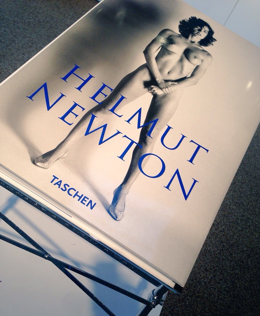 The incredible and inspirational Helmut Newton book $15,000