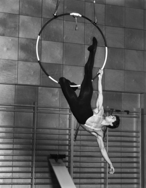 An Athlete in Tights by Bruce Weber