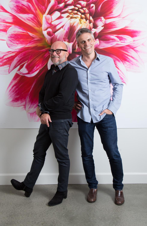 Eric Buterbaugh & business partner Fabrice Croisé