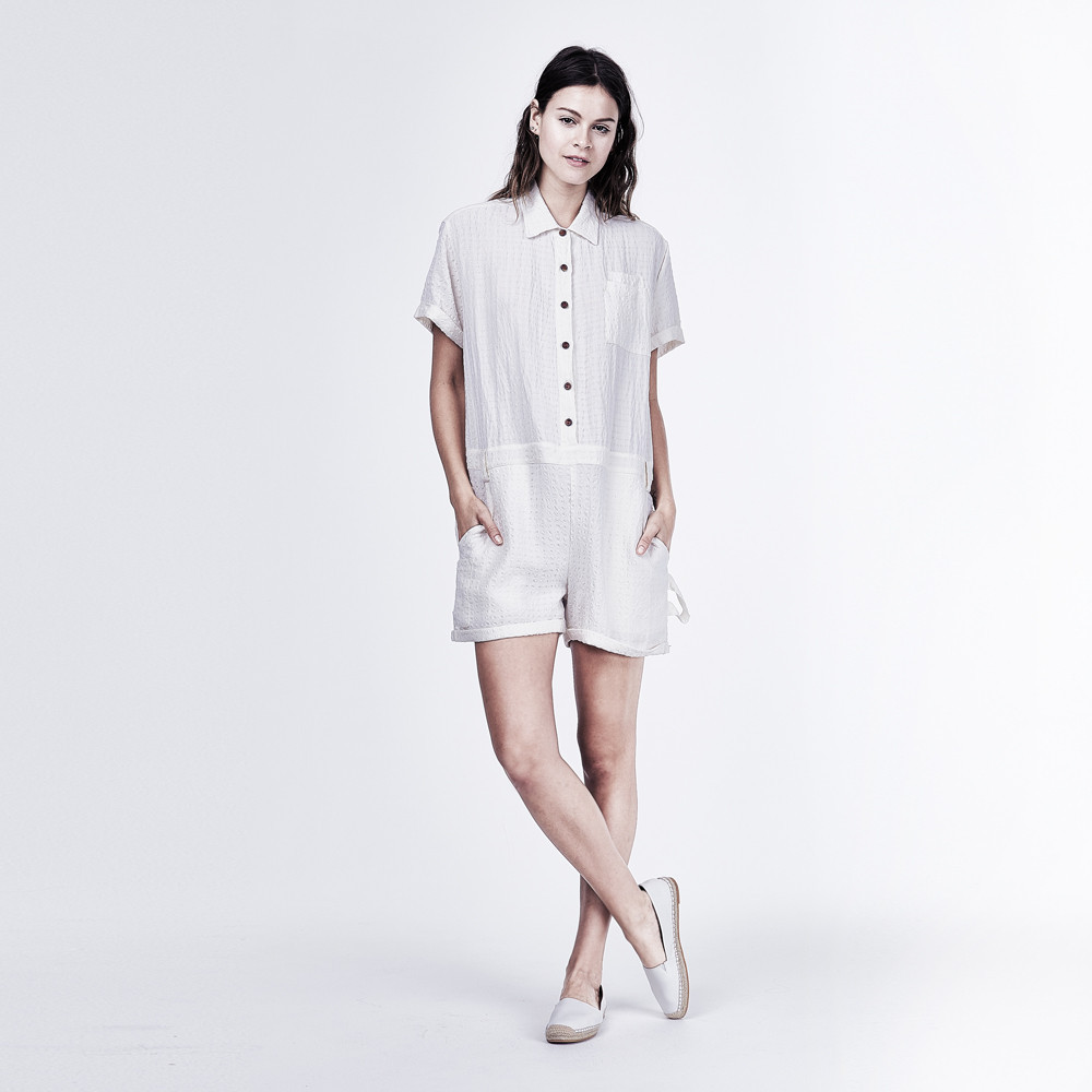 Playsuit Milky White $220,  click to shop!