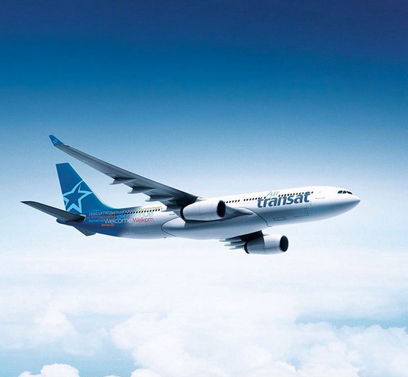 Photo courtesy of  Air Transat's Instagram