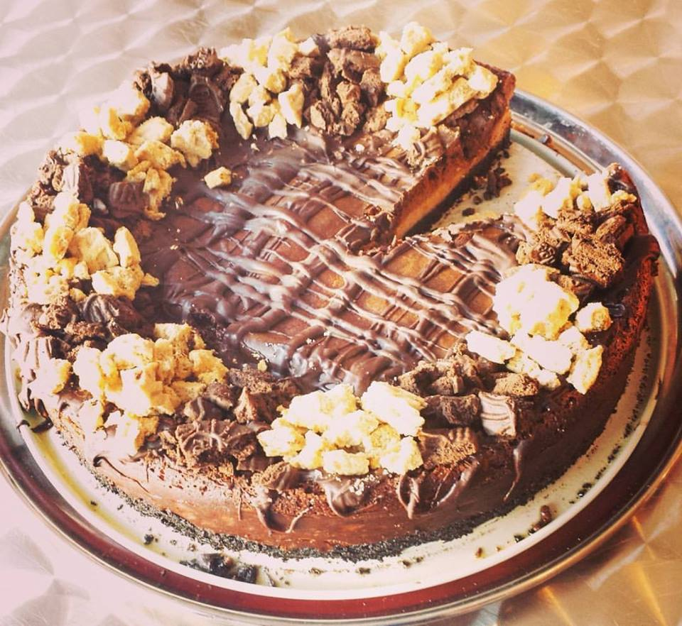 Photo: Choco Peanut Butter Cheesecake (CosmicTreats)