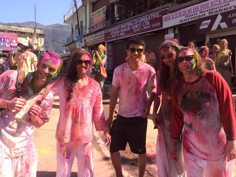 Rishikesh, India - Holi Festival with the people who made a real impact on my life