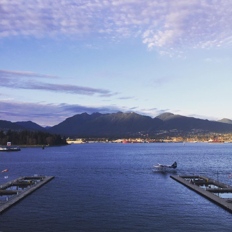 My daily view on my walk home from work. Coal Harbour, Downtown Vancouver