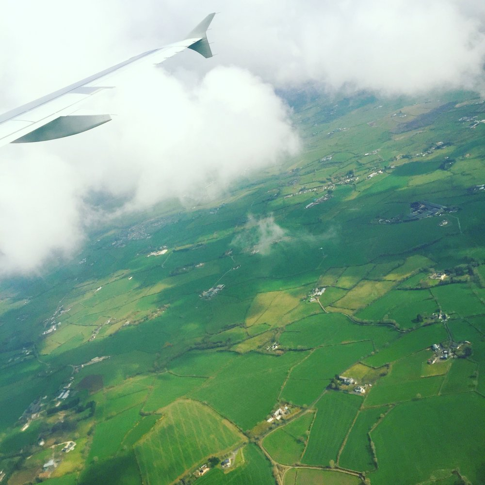 Touching down in the homeland