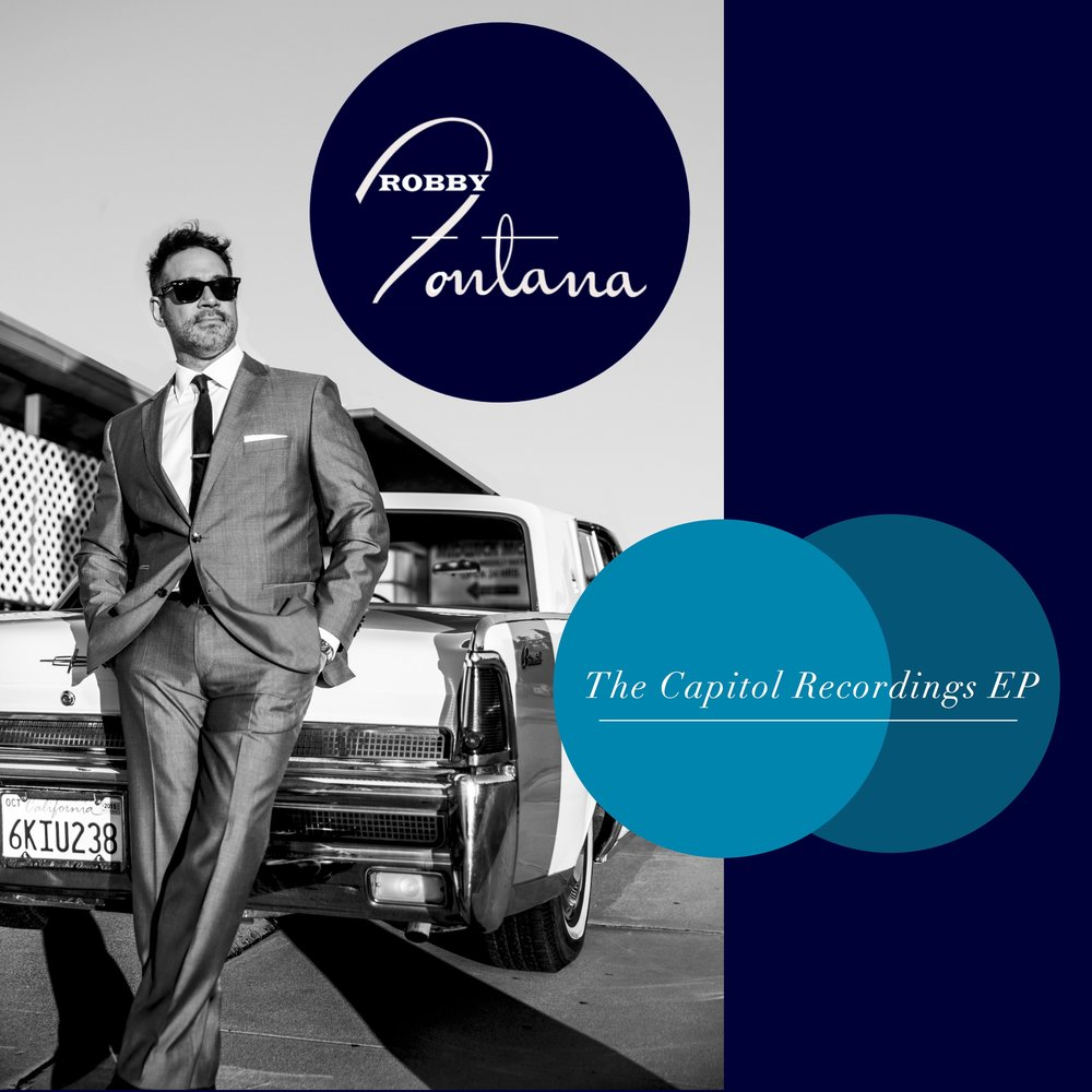 Album cover for The Capitol Recordings EP by Robby Fontana